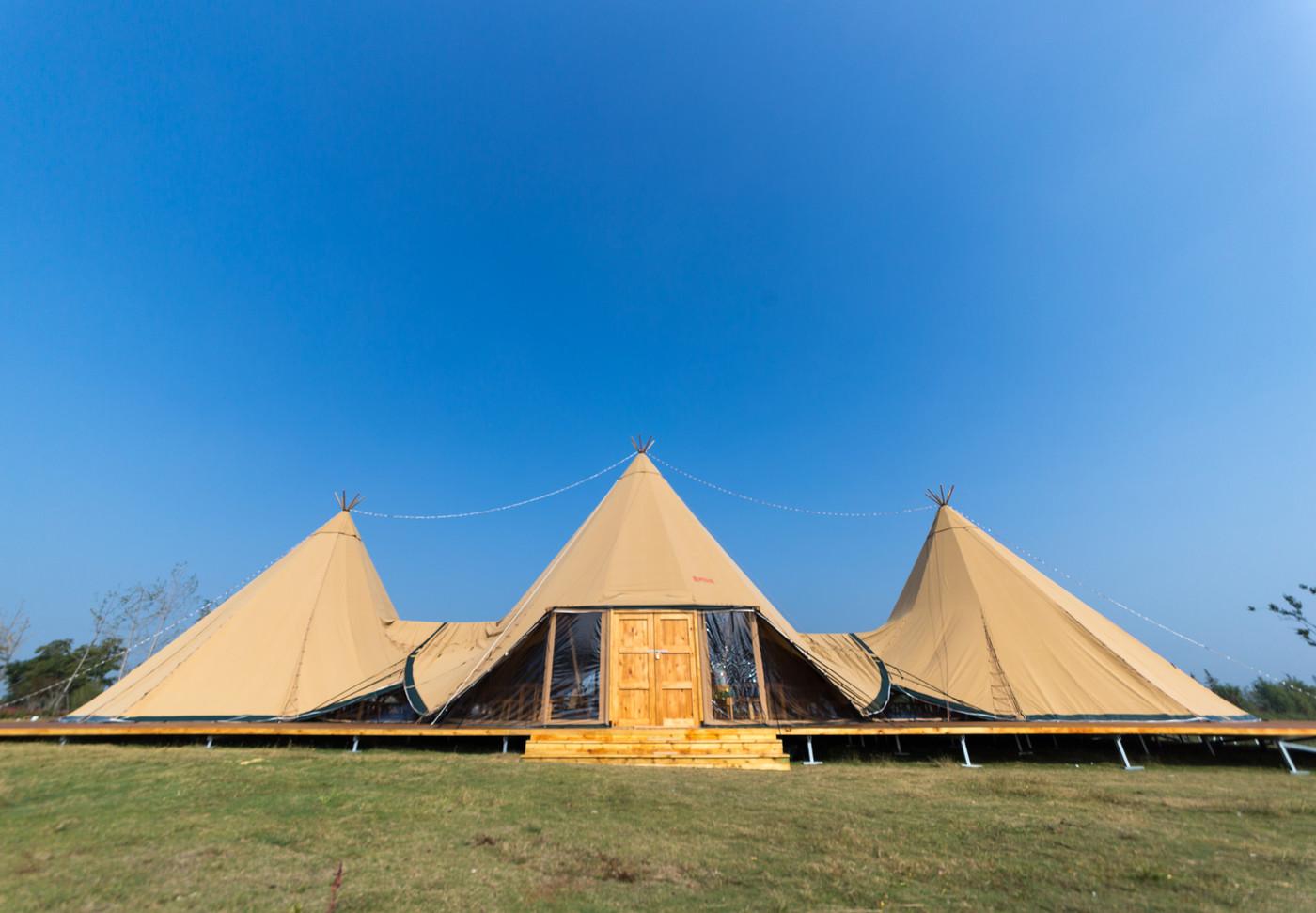 喜马拉雅印第安多功能大厅—淮安白马湖生态旅游度假区2