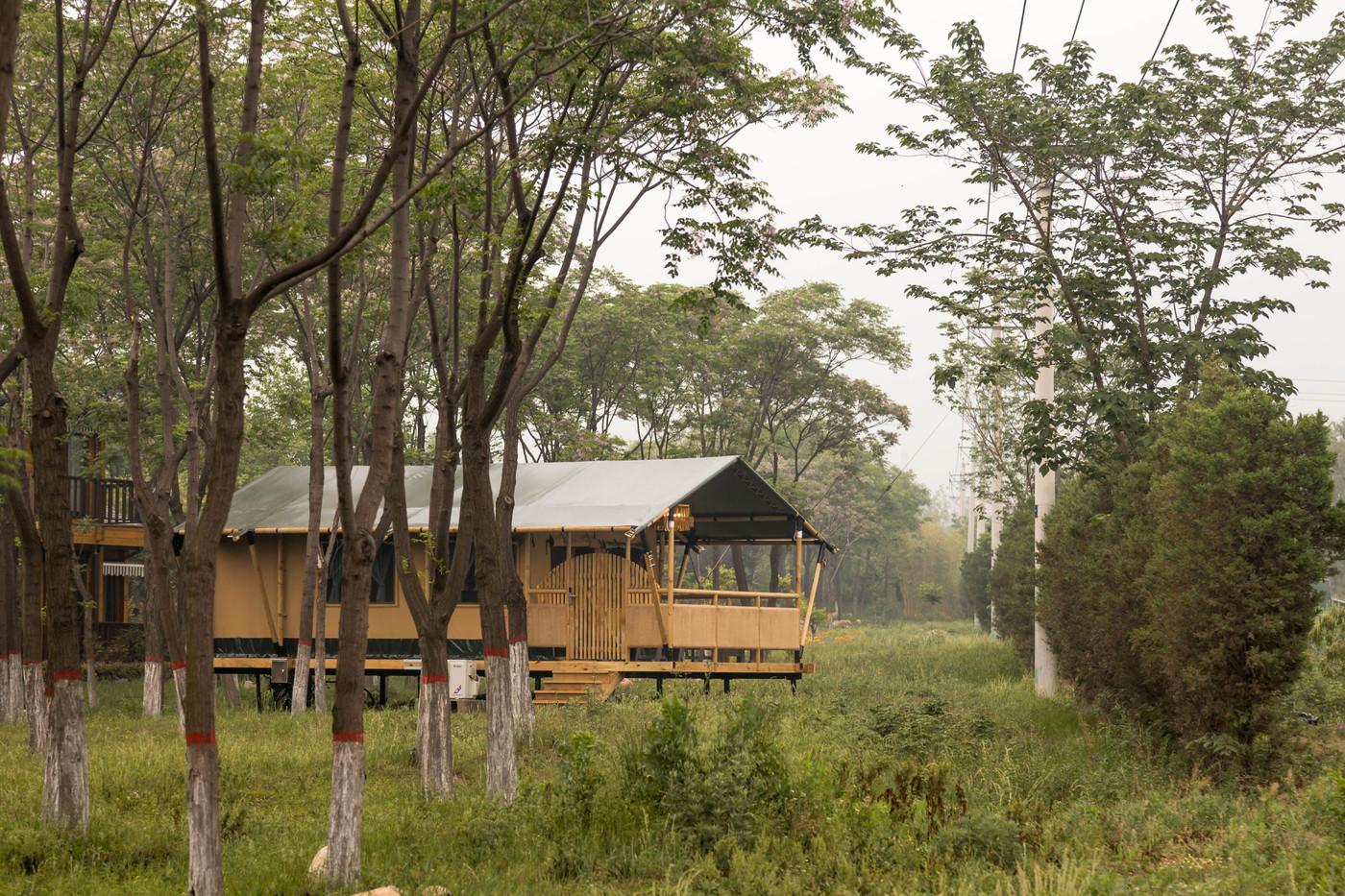 喜马拉雅野奢帐篷酒店—华山自驾游露营地(78平)16