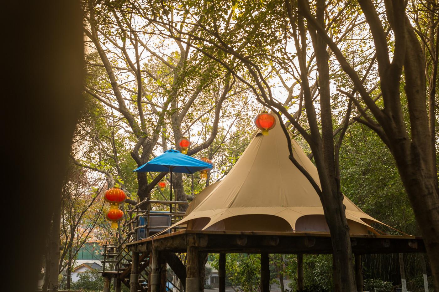 喜马拉雅野奢帐篷酒店—江苏常州天目湖树屋21