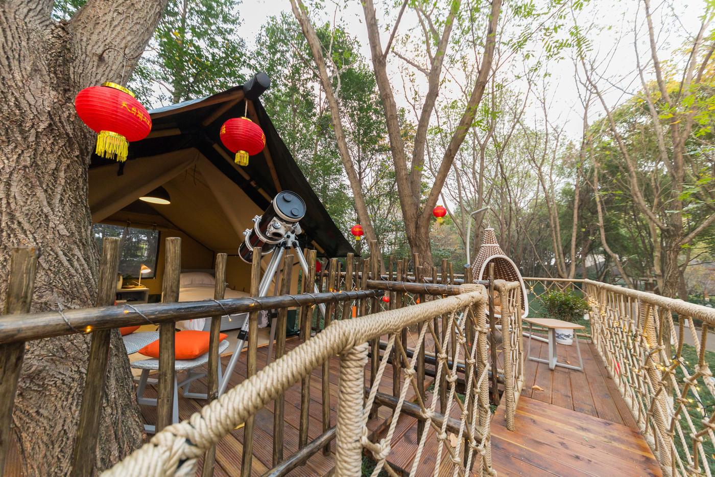喜马拉雅野奢帐篷酒店—江苏常州天目湖树屋帐篷酒店10