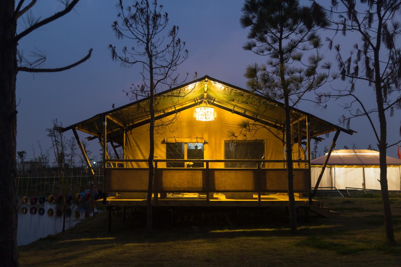 喜马拉雅野奢帐篷酒店—浙江留香之家露营地帐篷酒店(78平)14