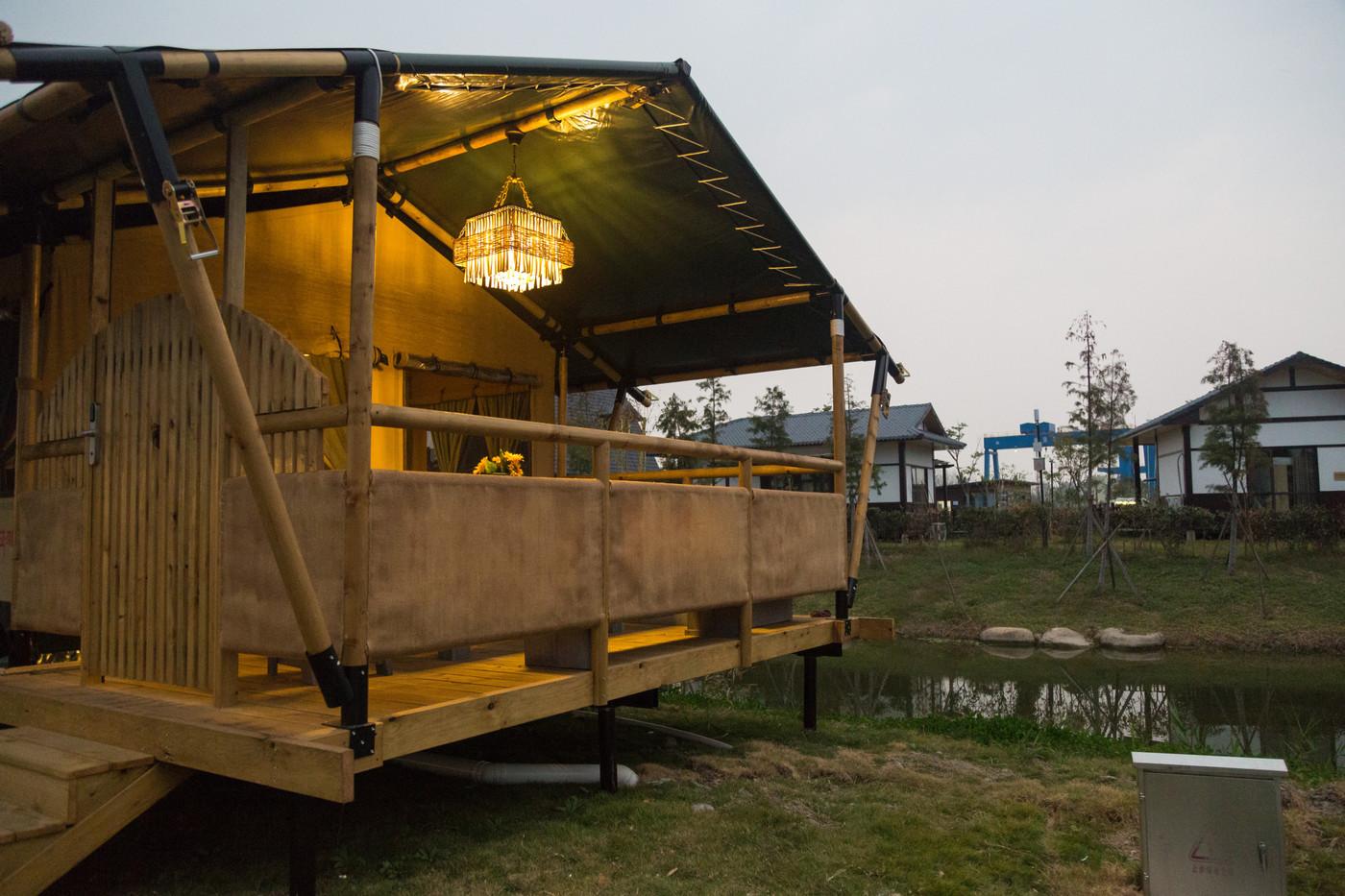 喜马拉雅野奢帐篷酒店—浙江留香之家露营地帐篷酒店(78平)11