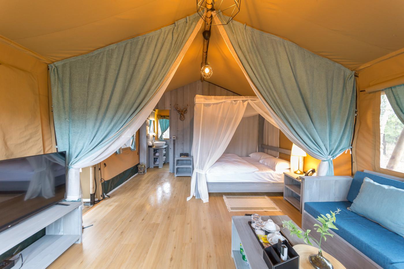 喜马拉雅上海迪士尼邻家营地子母房平地帐篷酒店14