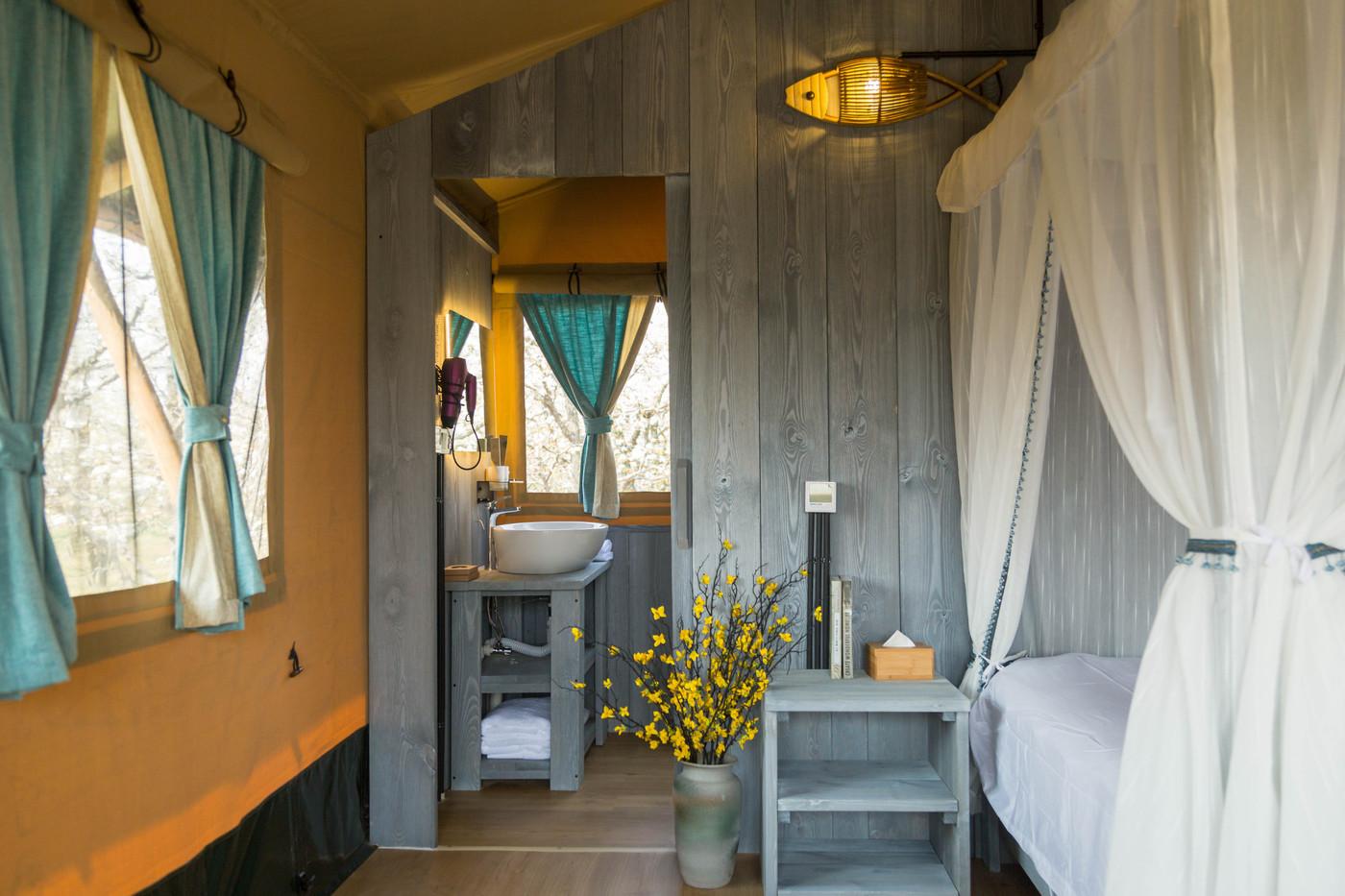 喜马拉雅野奢帐篷酒店—安徽砀山东篱蓬芦梨园帐篷酒店20