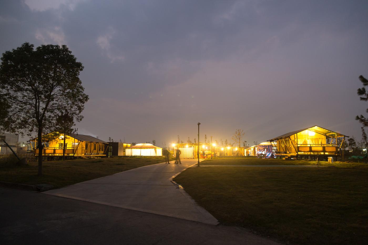 喜马拉雅野奢帐篷酒店—浙江留香之家露营地帐篷酒店(78平)13
