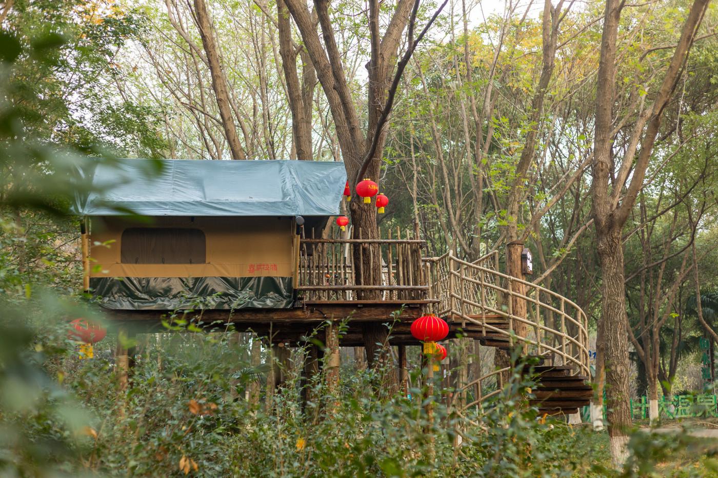 喜马拉雅野奢帐篷酒店—江苏常州天目湖树屋8