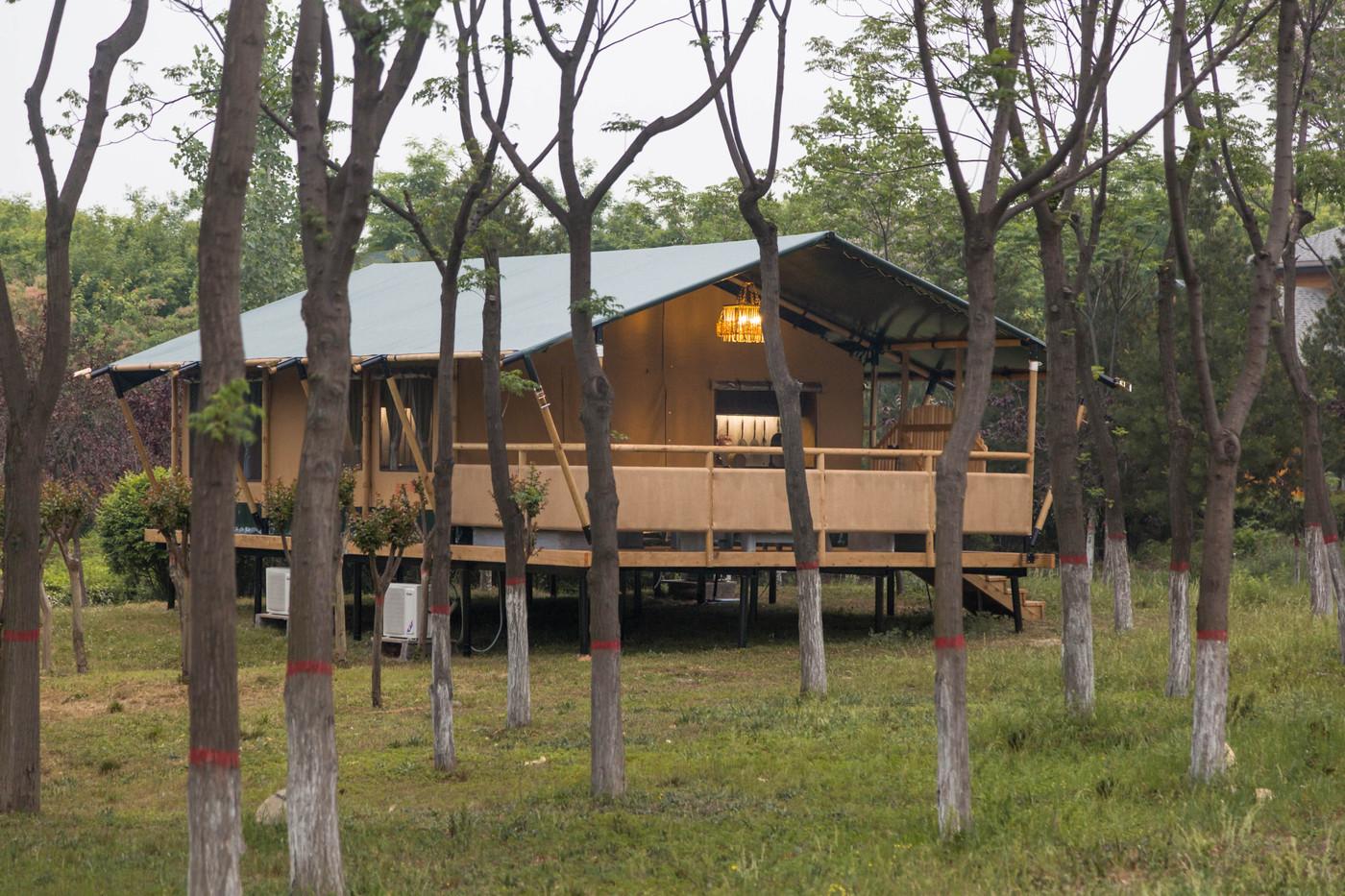 喜马拉雅野奢帐篷酒店—华山自驾游露营地(78平)3
