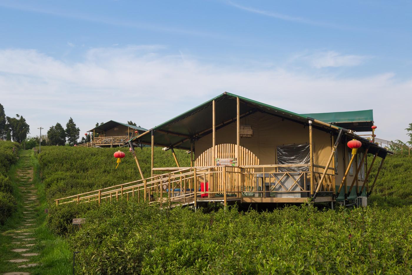 喜马拉雅野奢帐篷酒店—江苏常州茅山宝盛园2期茶田帐篷酒店12