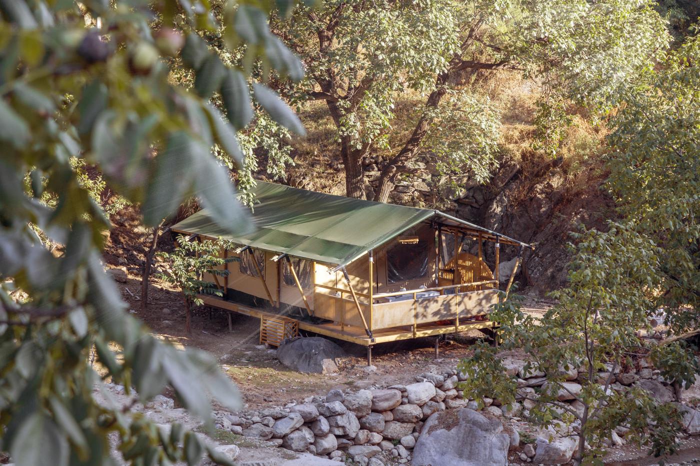 喜马拉雅野奢帐篷酒店一北京石头 剪刀 布一私享院子 54平山谷型  14