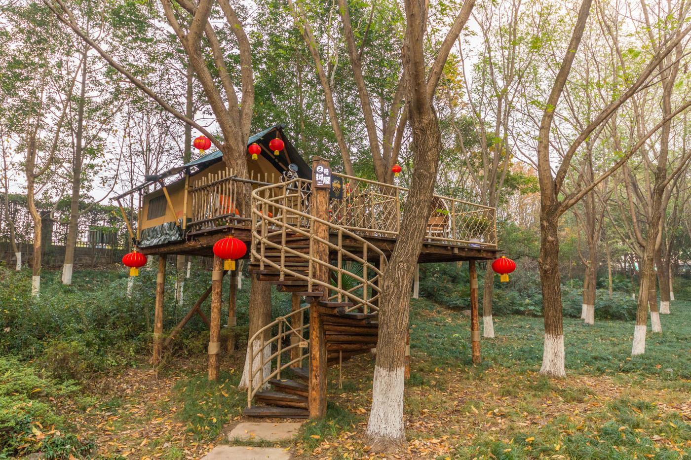 喜马拉雅野奢帐篷酒店—江苏常州天目湖树屋帐篷酒店3
