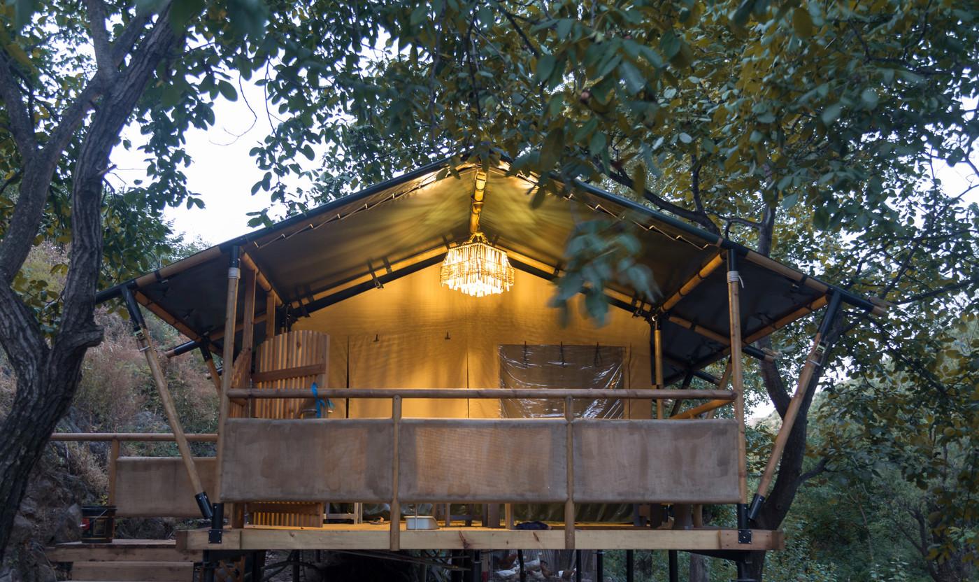 喜马拉雅野奢帐篷酒店一北京石头 剪刀 布一私享院子 54平山谷型  19
