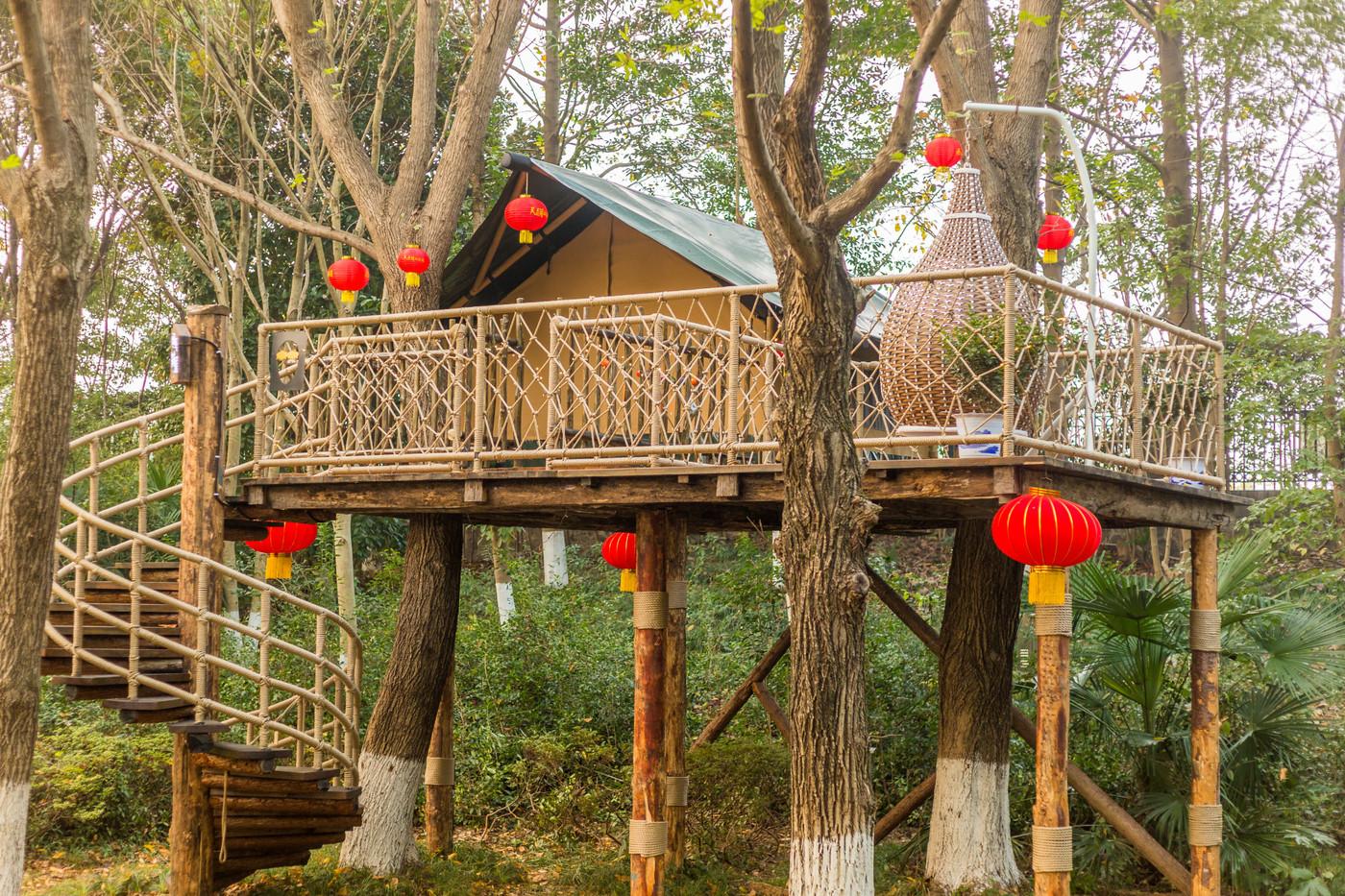 喜马拉雅野奢帐篷酒店—江苏常州天目湖树屋帐篷酒店5