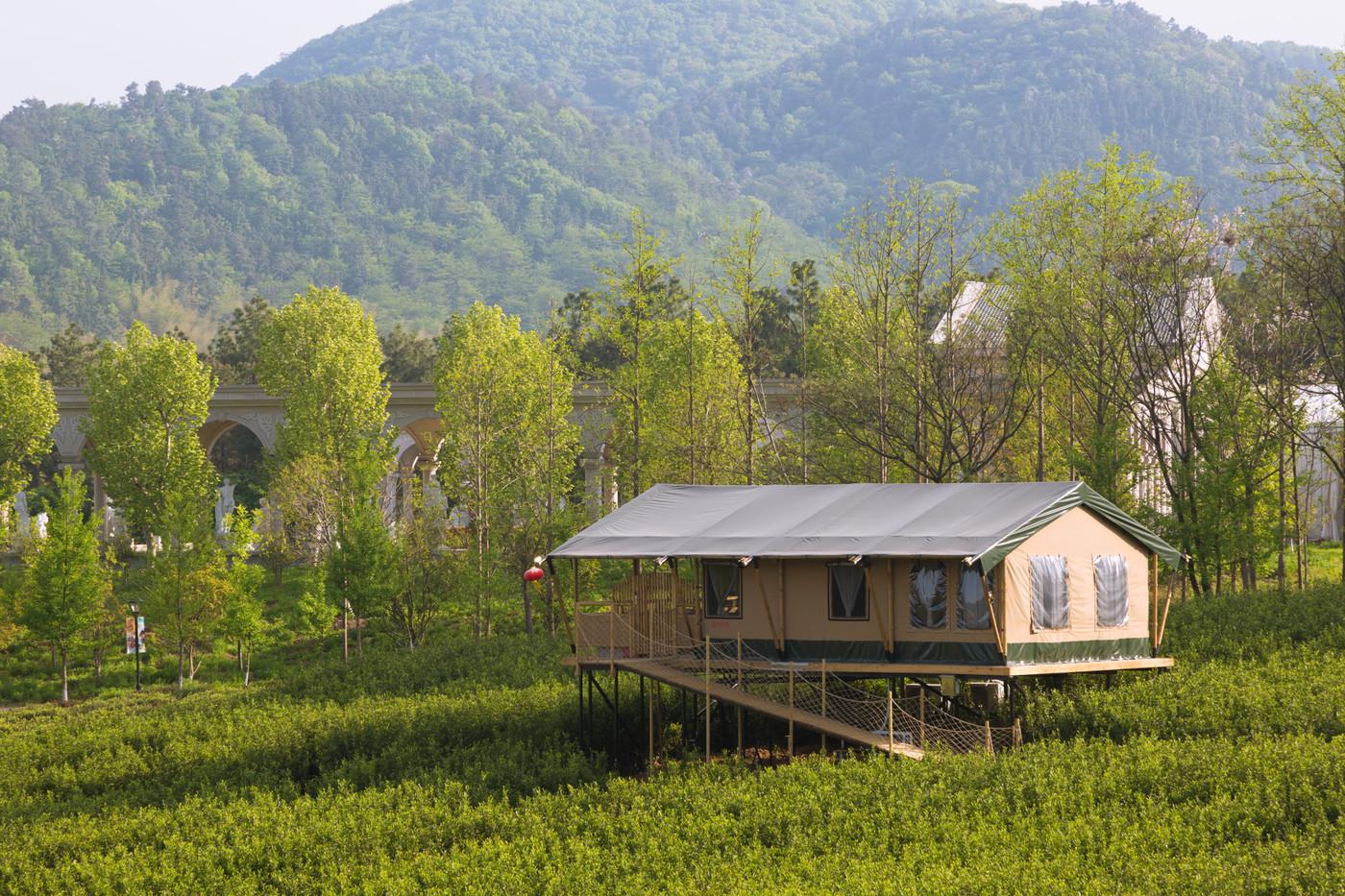 喜马拉雅野奢帐篷酒店—江苏常州茅山宝盛园2期茶田帐篷酒店15