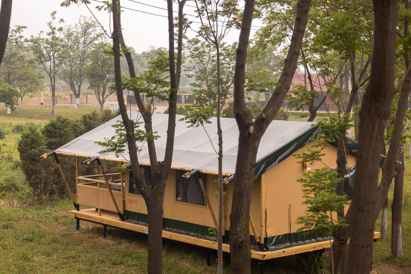 喜马拉雅野奢帐篷酒店—华山自驾游露营地(54平)4