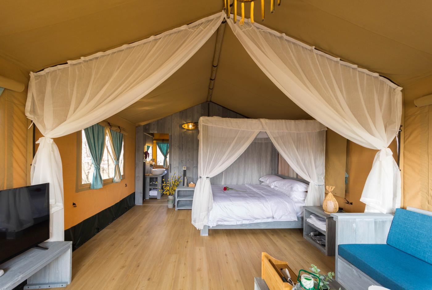 喜马拉雅野奢帐篷酒店—安徽砀山东篱蓬芦梨园帐篷酒店16