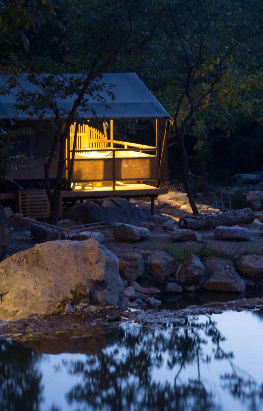 喜马拉雅野奢帐篷酒店一北京石头 剪刀 布一私享院子 54平山谷型  23