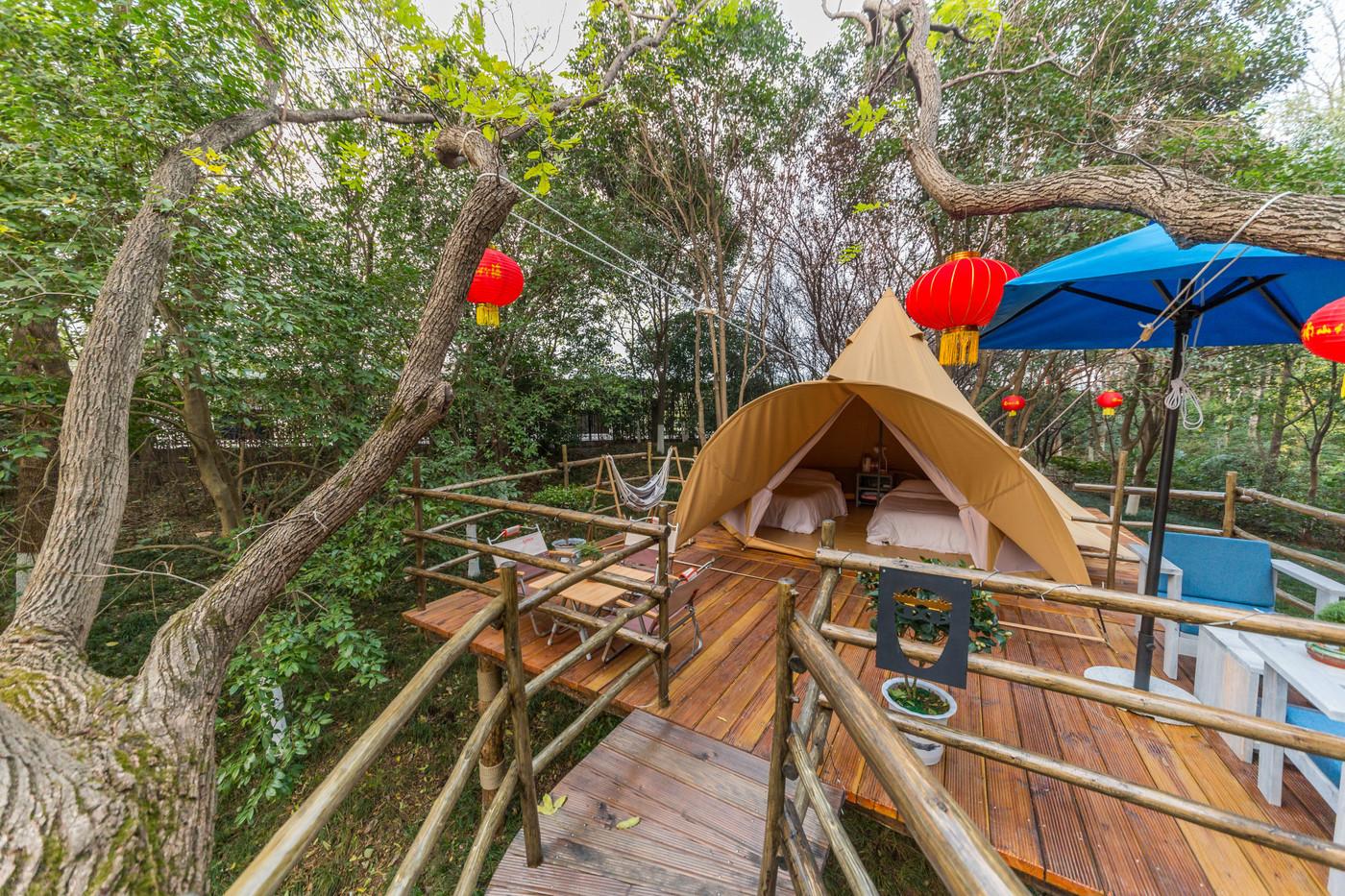 喜马拉雅野奢帐篷酒店—江苏常州天目湖树屋帐篷酒店26