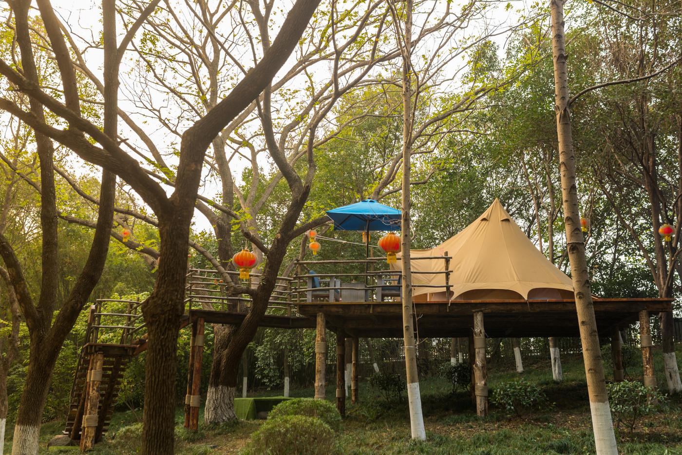 喜马拉雅野奢帐篷酒店—江苏常州天目湖树屋20