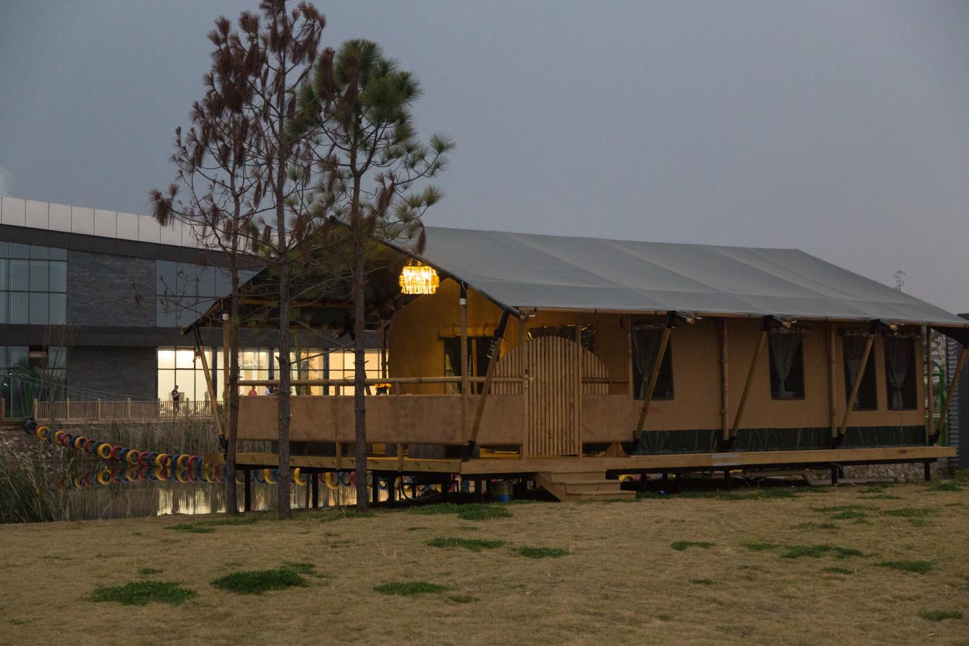 喜马拉雅野奢帐篷酒店—浙江留香之家露营地帐篷酒店(78平)12