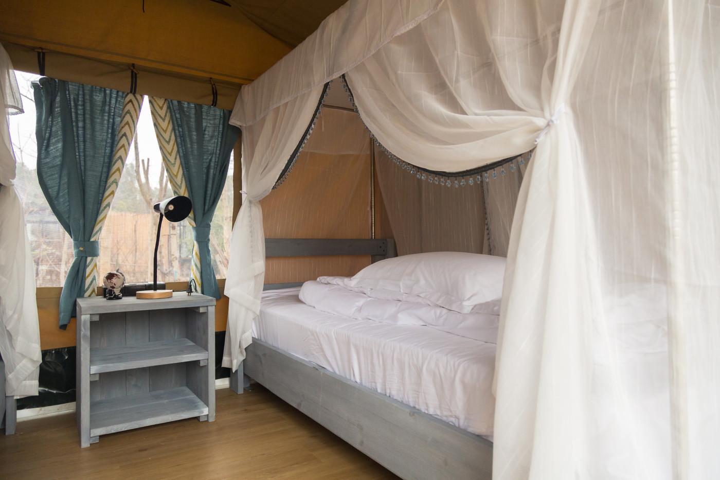 喜马拉雅上海迪士尼邻家营地子母房平地帐篷酒店35