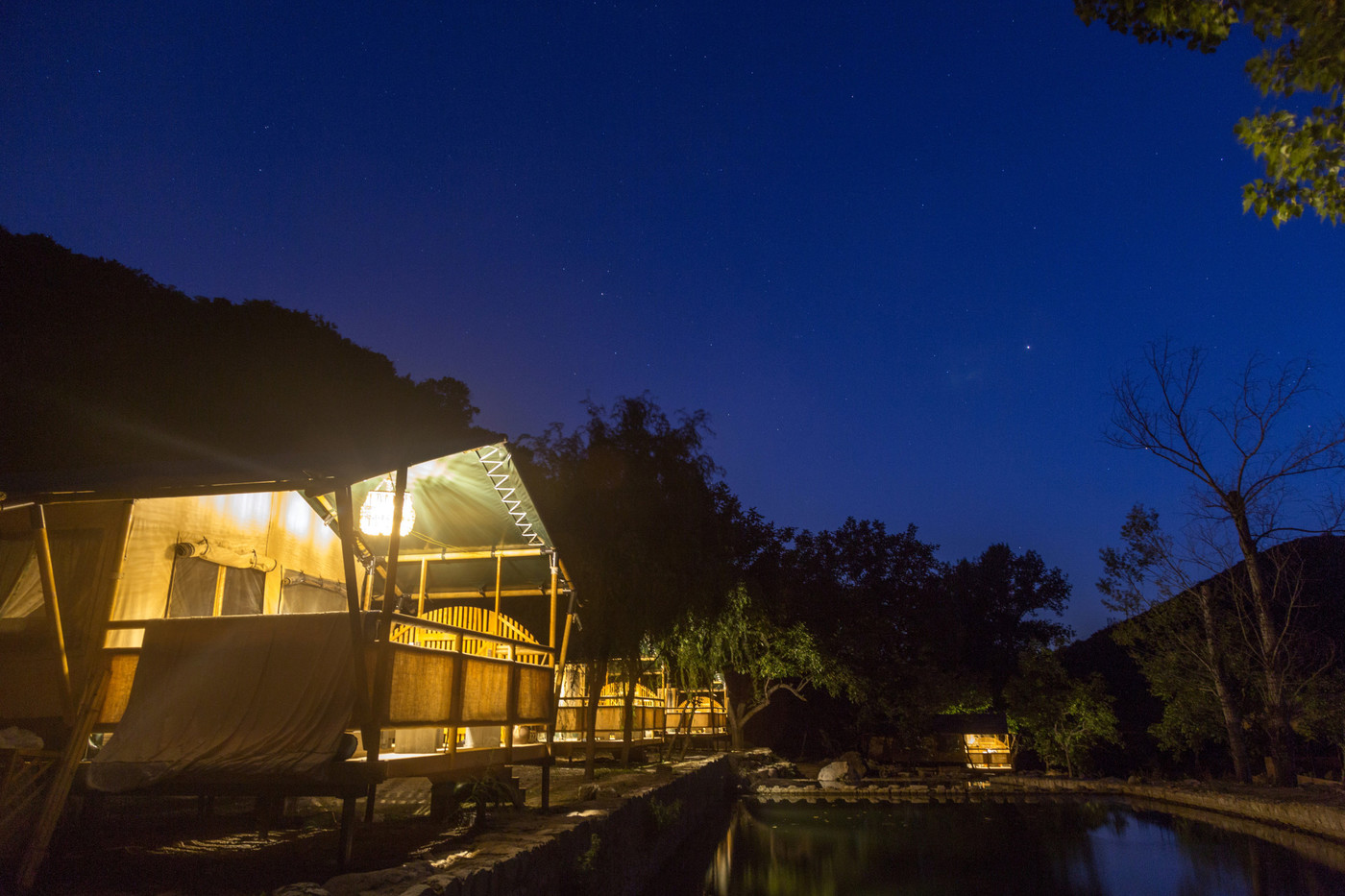 喜马拉雅野奢帐篷酒店一北京石头 剪刀 布一私享院子 54平山谷型  27