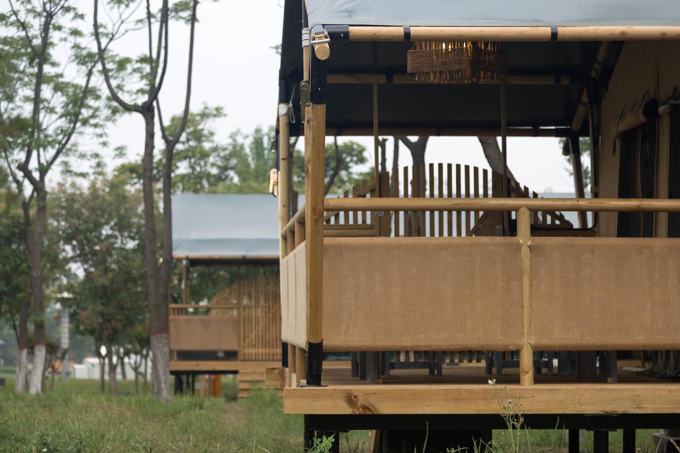 喜马拉雅野奢帐篷酒店—华山自驾游露营地(78平)7