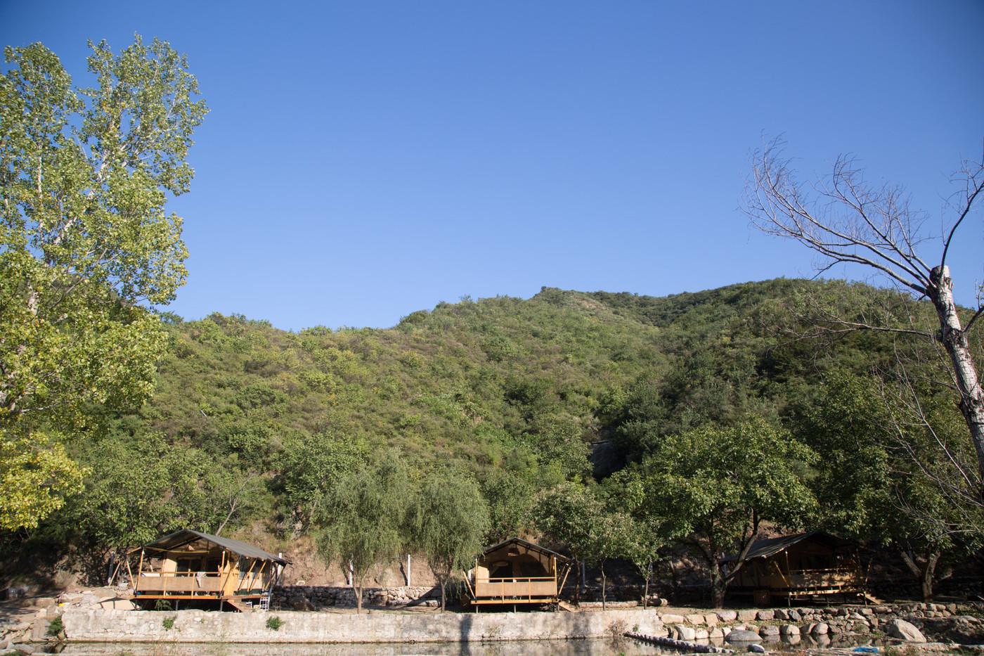 喜马拉雅野奢帐篷酒店一北京石头 剪刀 布一私享院子 54平山谷型  2