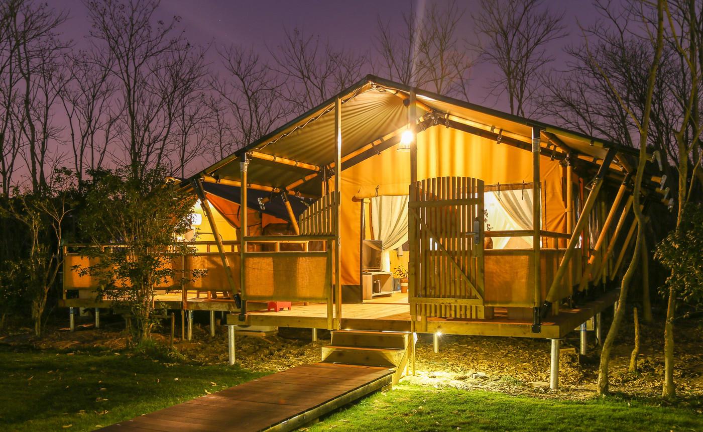 喜马拉雅上海迪士尼邻家营地子母房平地帐篷酒店7