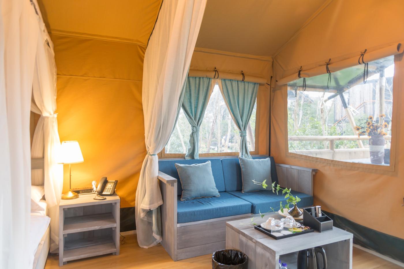 喜马拉雅上海迪士尼邻家营地子母房平地帐篷酒店19