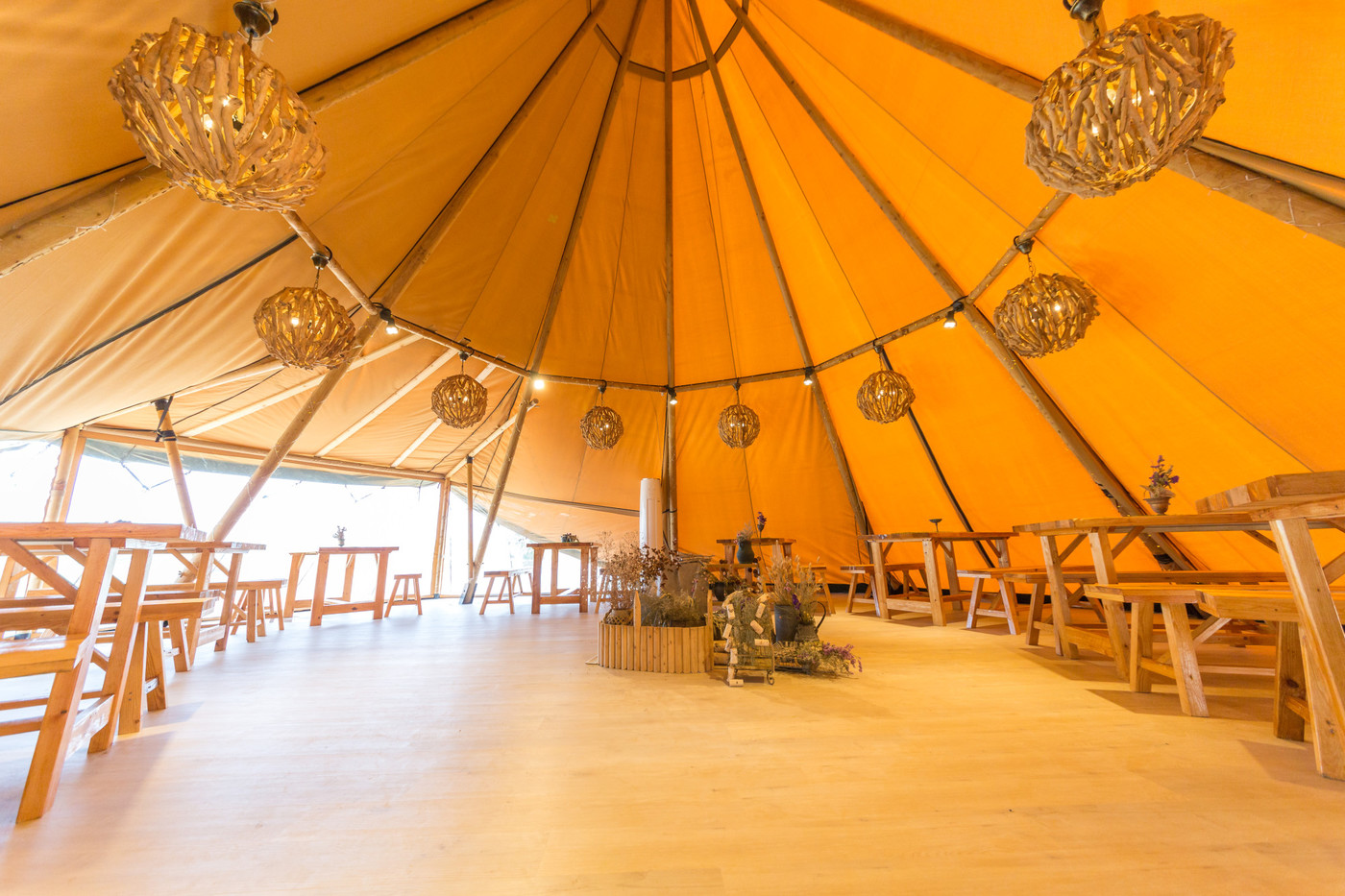 喜马拉雅印第安多功能大厅—淮安白马湖生态旅游度假区24