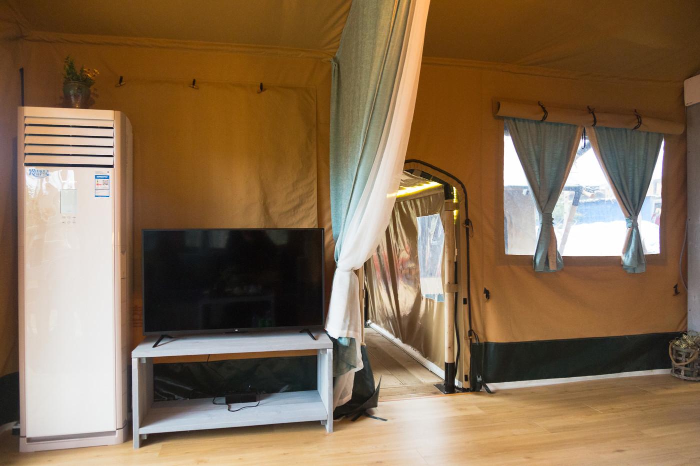 喜马拉雅上海迪士尼邻家营地子母房平地帐篷酒店28