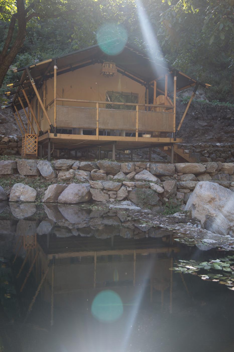 喜马拉雅野奢帐篷酒店一北京石头 剪刀 布一私享院子 54平山谷型  13