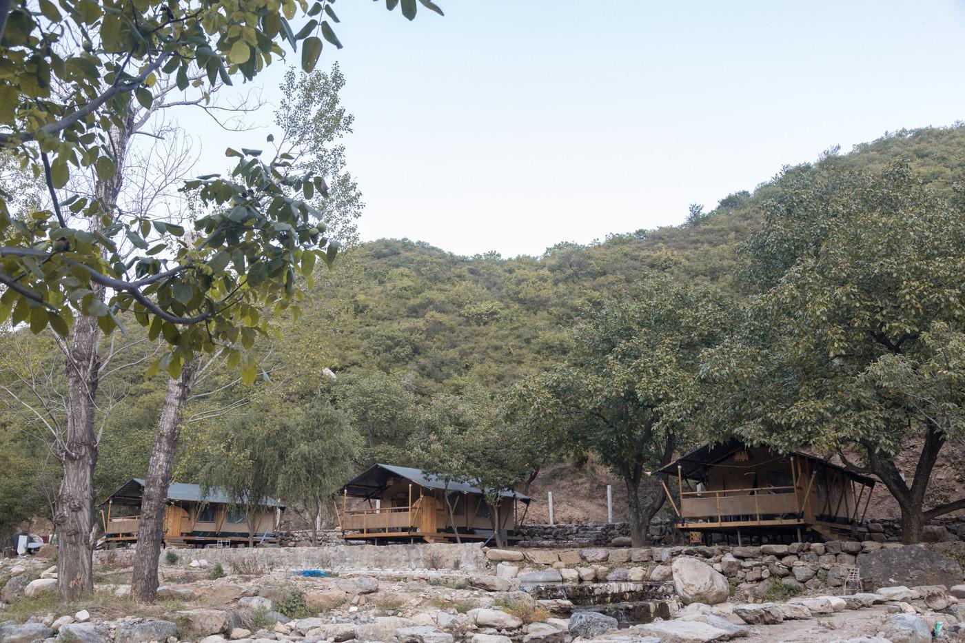 喜马拉雅野奢帐篷酒店一北京石头 剪刀 布一私享院子 54平山谷型  4