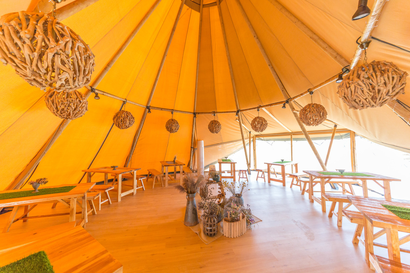 喜马拉雅印第安多功能大厅帐篷酒店27