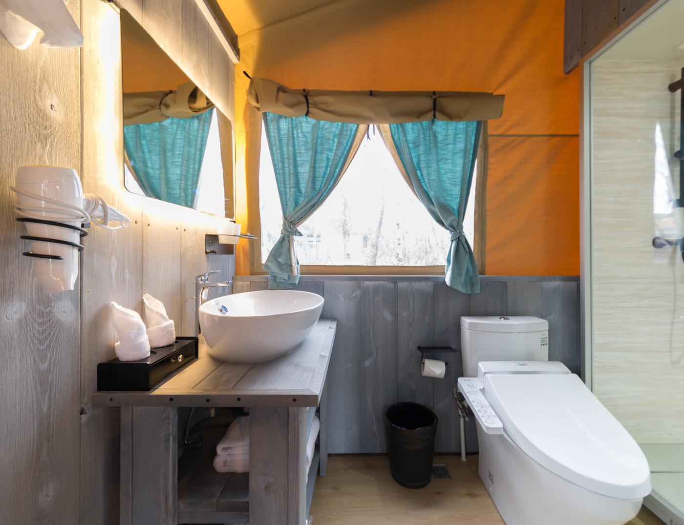 喜马拉雅上海迪士尼邻家营地子母房平地帐篷酒店25