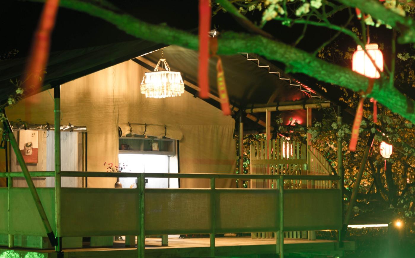 喜马拉雅野奢帐篷酒店—安徽砀山东篱蓬芦梨园帐篷酒店11