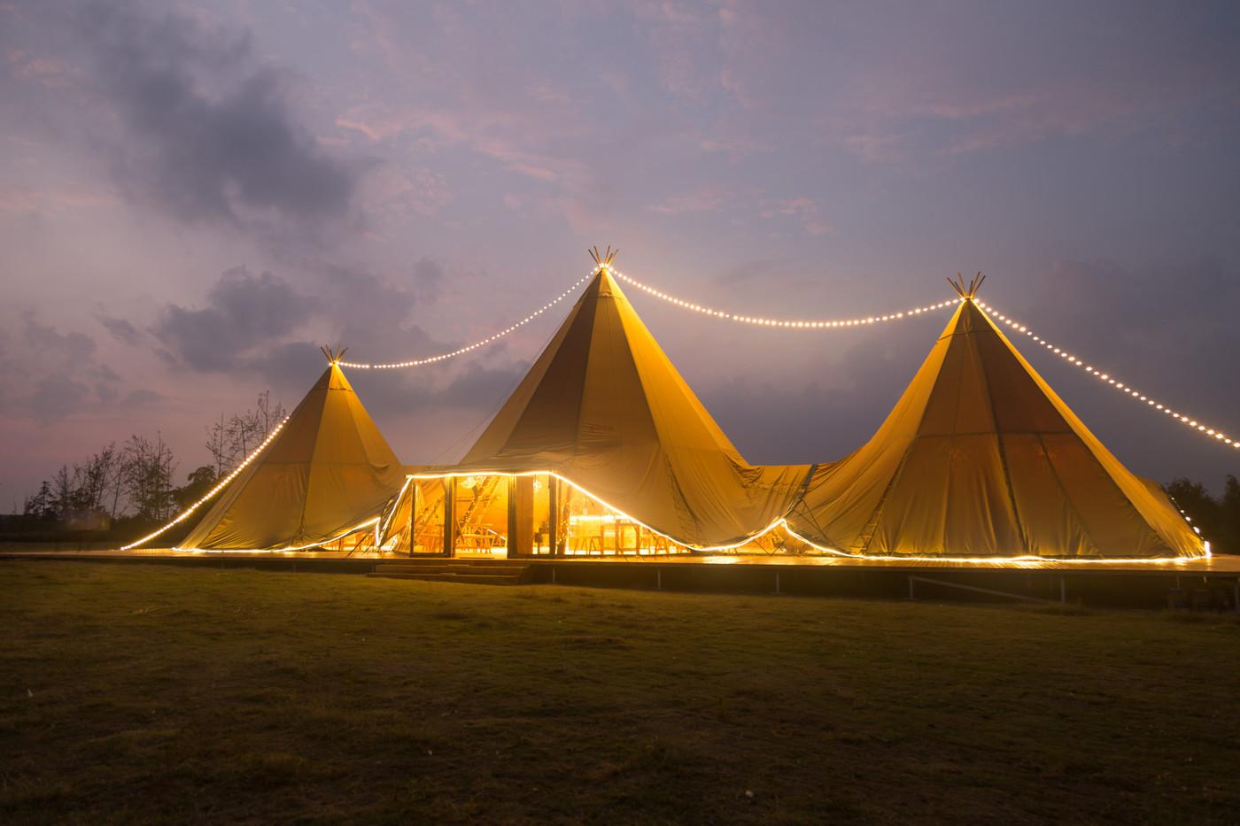 喜马拉雅印第安多功能大厅帐篷酒店18