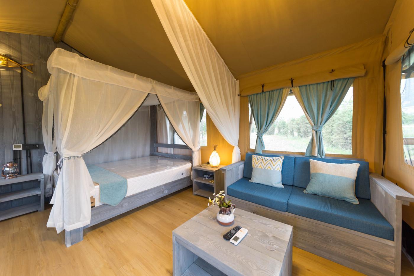 喜马拉雅野奢帐篷酒店—华山自驾游露营地(54平)21