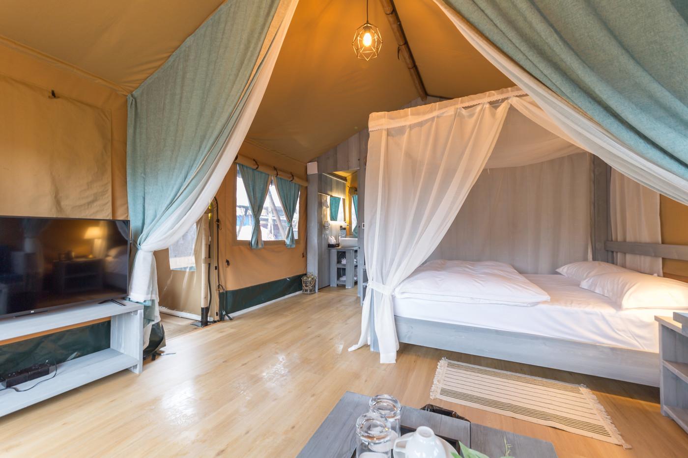 喜马拉雅上海迪士尼邻家营地子母房平地帐篷酒店15