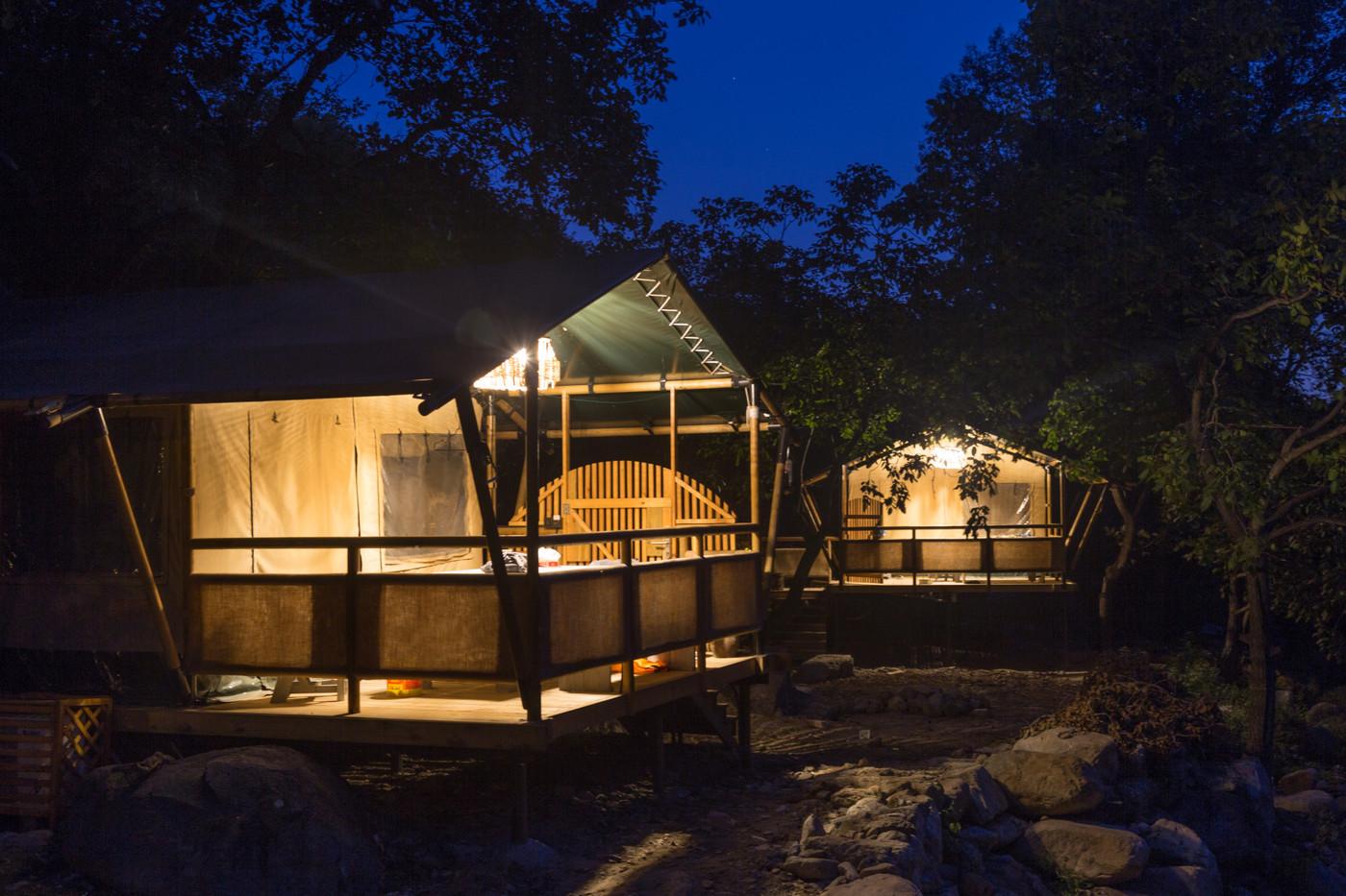 喜马拉雅野奢帐篷酒店一北京石头 剪刀 布一私享院子 54平山谷型  25