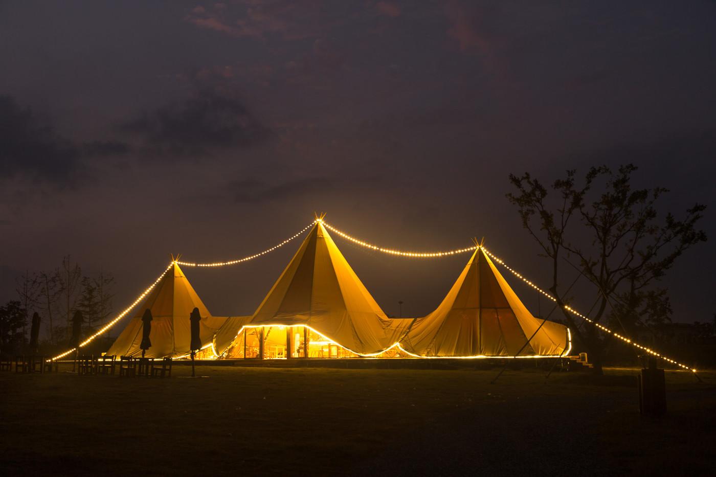 喜马拉雅印第安多功能大厅帐篷酒店20