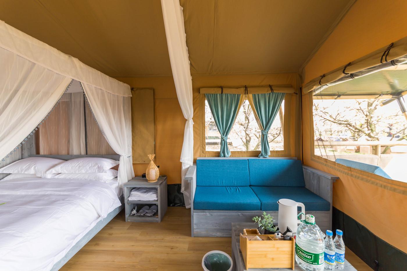 喜马拉雅野奢帐篷酒店—安徽砀山东篱蓬芦梨园帐篷酒店18