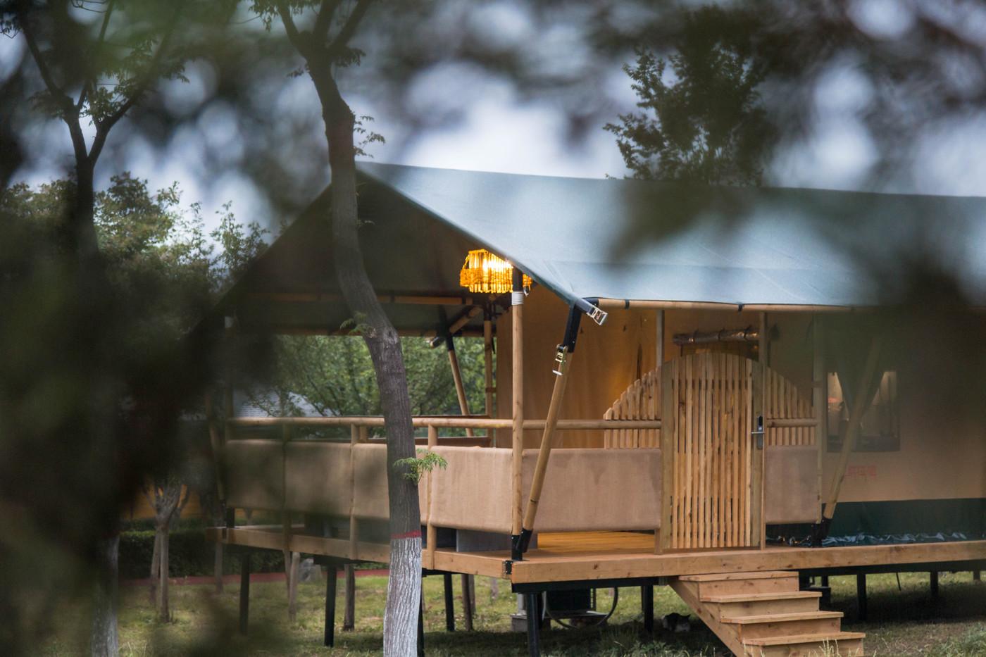 喜马拉雅野奢帐篷酒店—华山自驾游露营地(78平)15