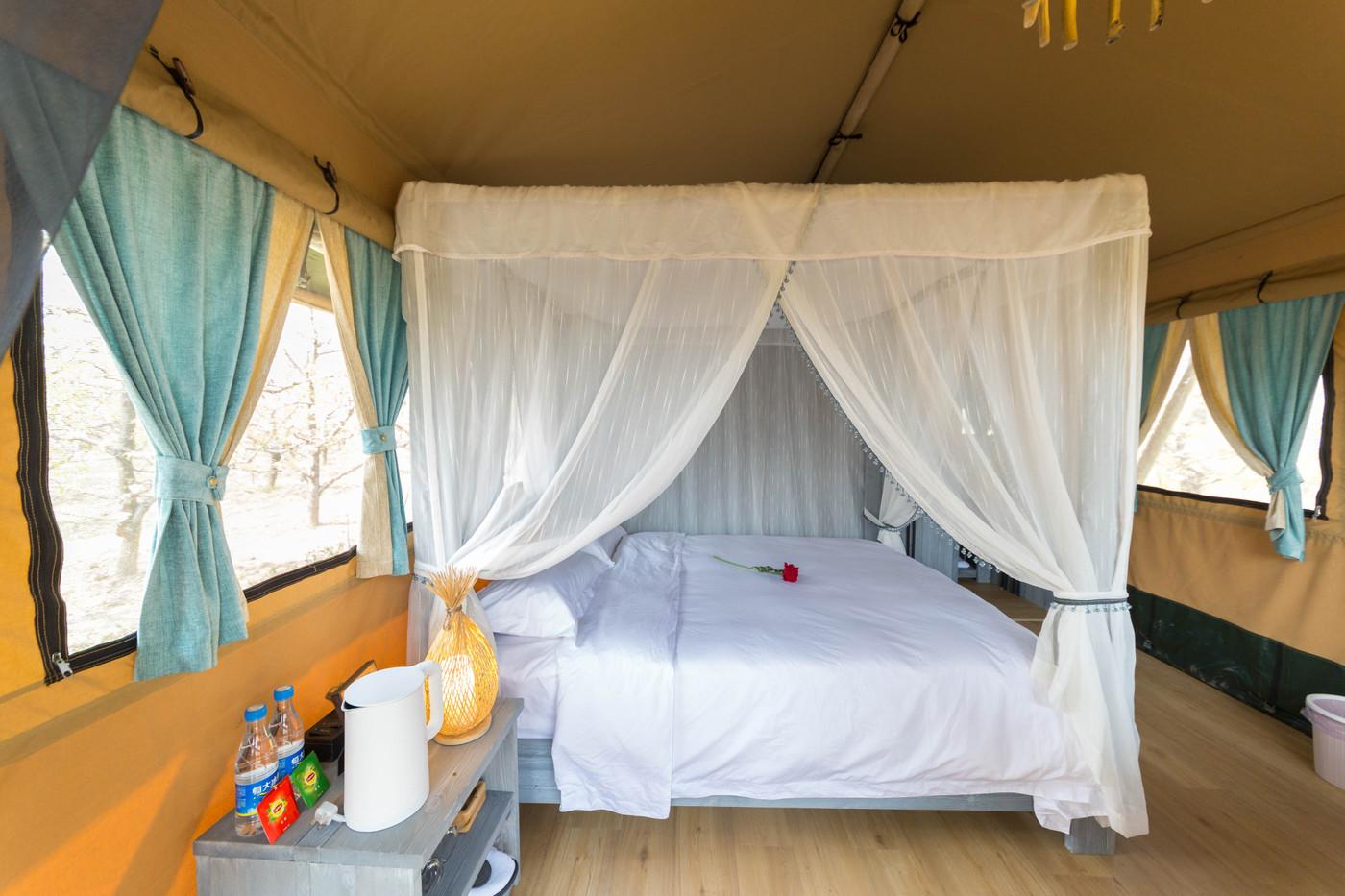 喜马拉雅野奢帐篷酒店—安徽砀山 东篱蓬芦(梨园41平)23