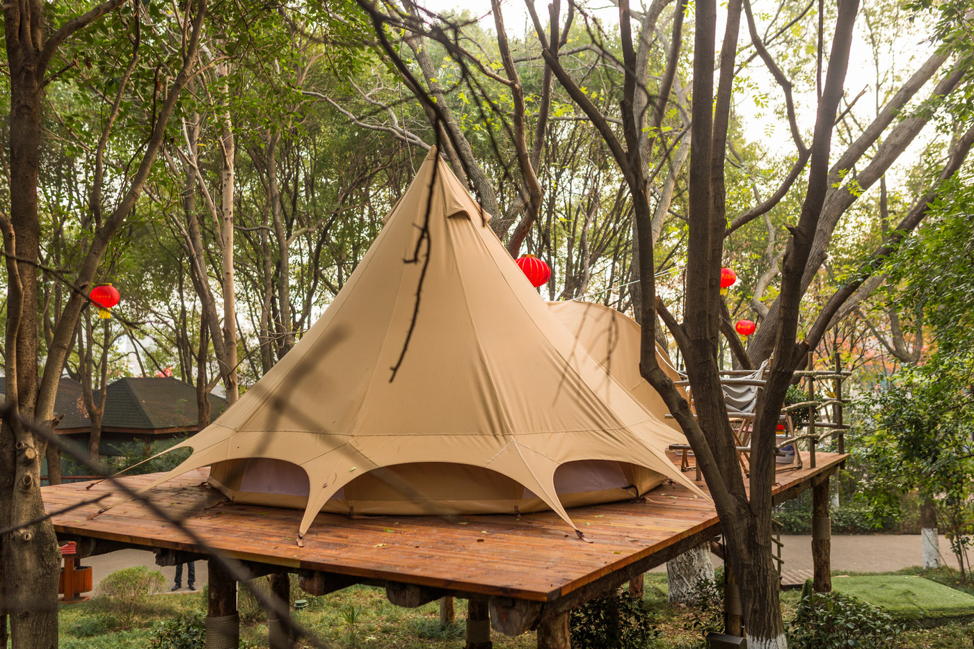 喜马拉雅野奢帐篷酒店—江苏常州天目湖树屋帐篷酒店25