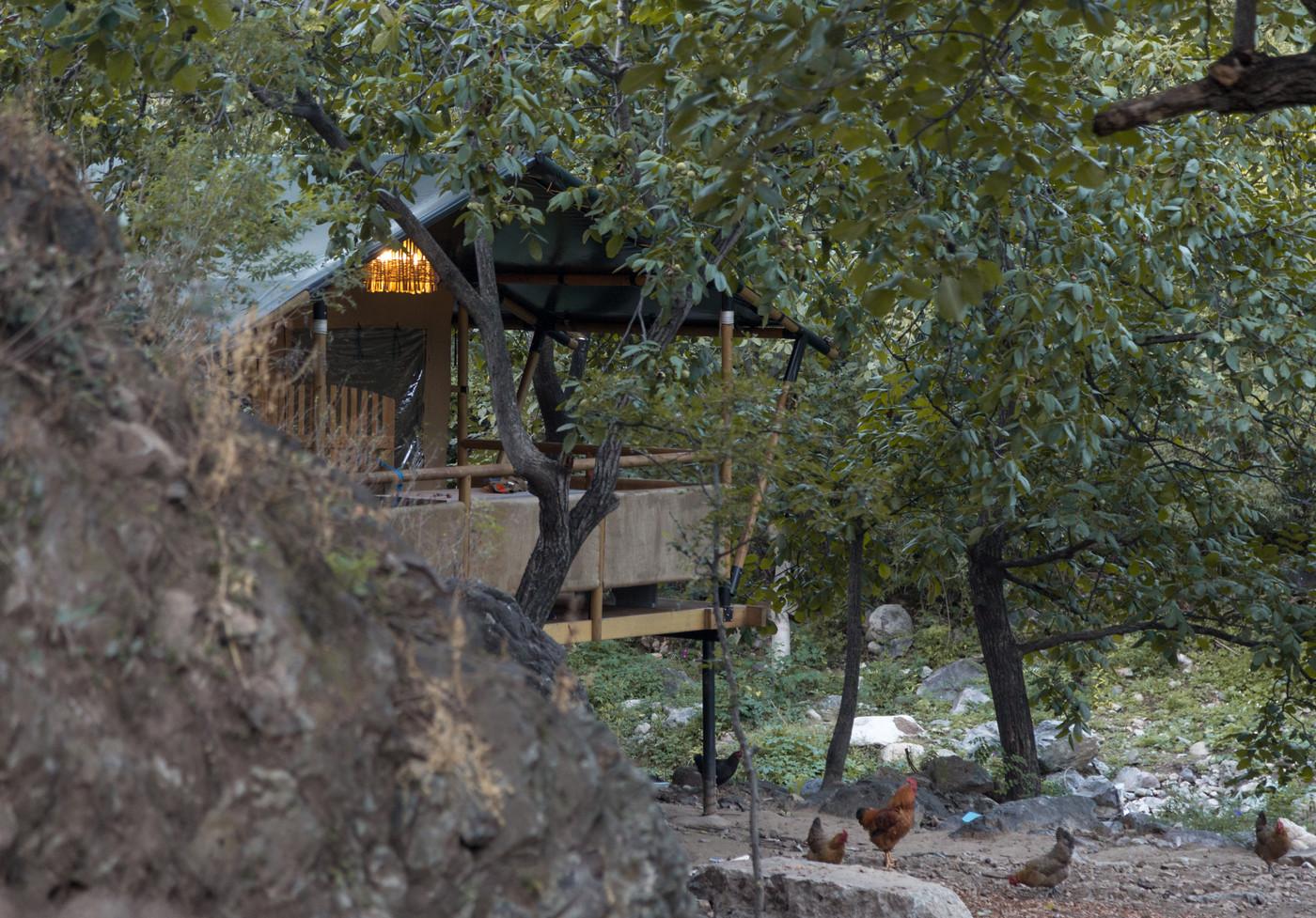 喜马拉雅野奢帐篷酒店一北京石头 剪刀 布一私享院子 54平山谷型  12