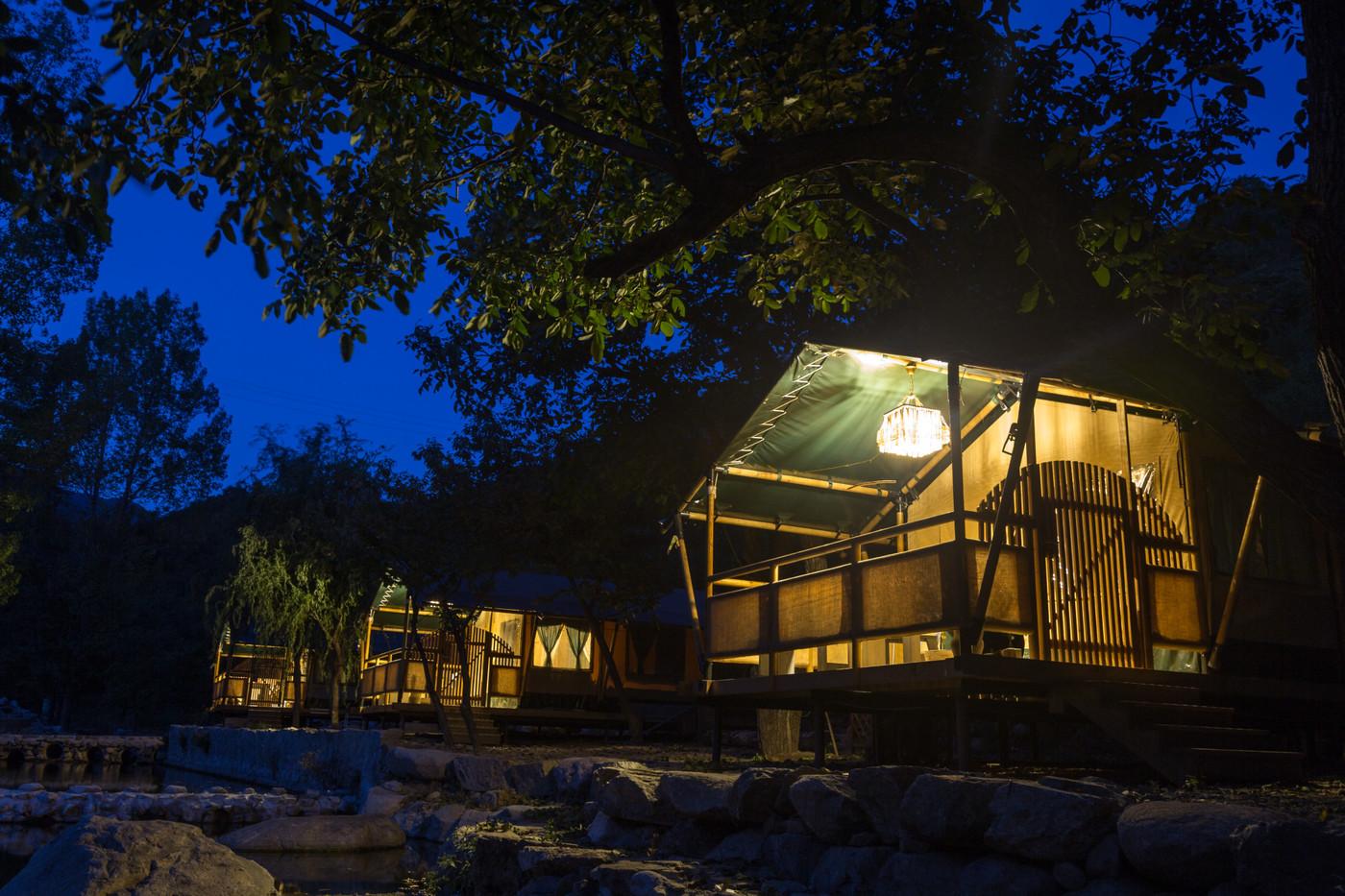 喜马拉雅野奢帐篷酒店一北京石头 剪刀 布一私享院子 54平山谷型  24