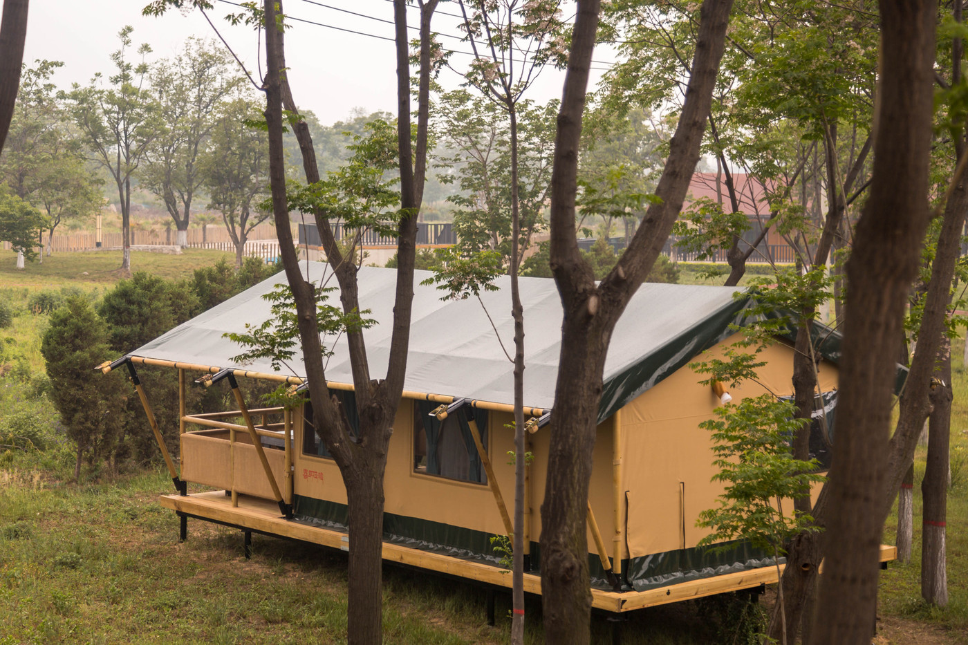 喜马拉雅野奢帐篷酒店—华山自驾游露营地(78平)4