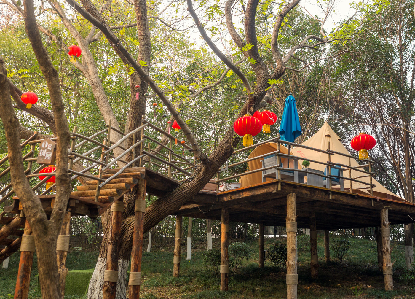 喜马拉雅野奢帐篷酒店—江苏常州天目湖树屋18