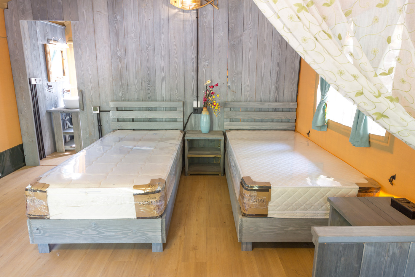 喜马拉雅野奢帐篷酒店一北京石头 剪刀 布一私享院子 54平山谷型  35
